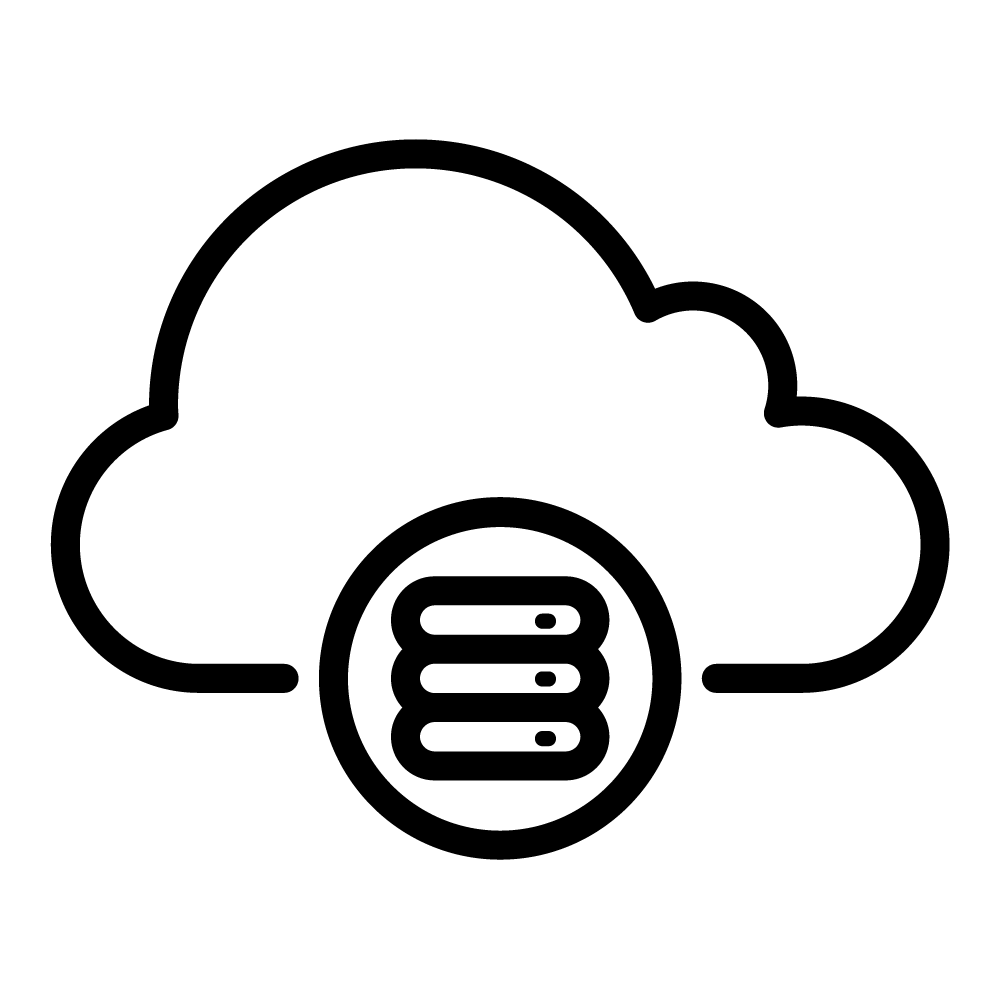 hybrid cloud icon